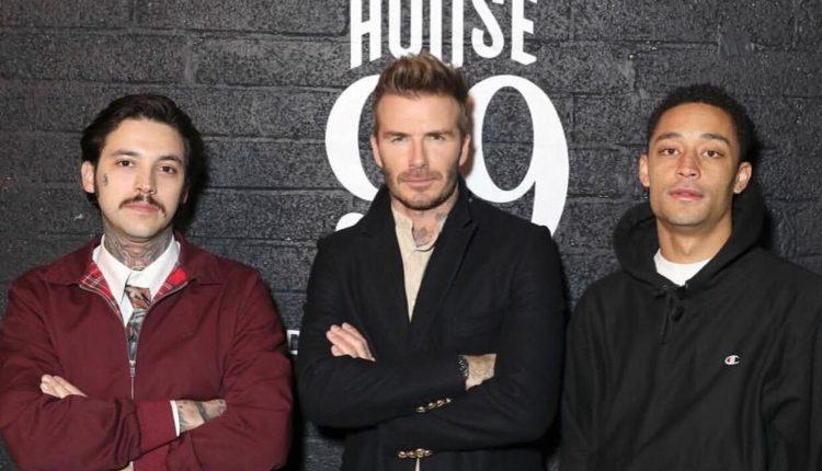 David Beckham house 99 instagram