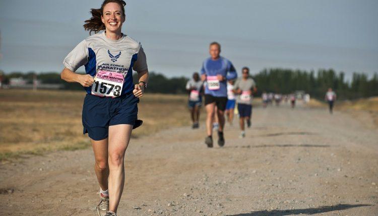 carrera, corredor, maraton