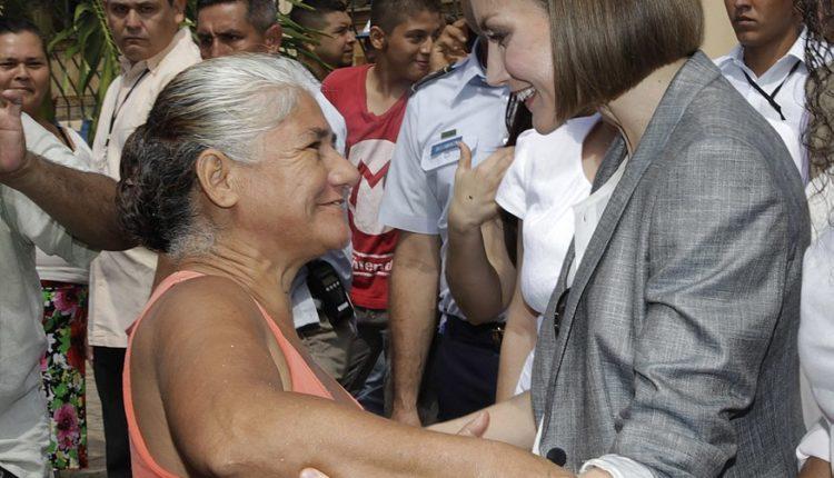 Reina Letizia en El Salvador/ Fuente: Presidencia El Salvador from San Salvador, El Salvador, América Central Wikicommons