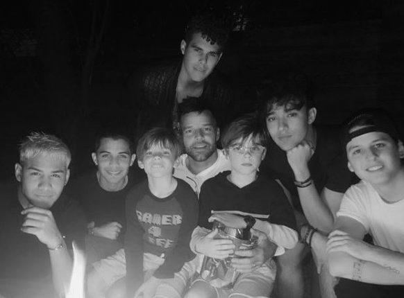 Ricky Martin quiere que sus hijos sean gay / Fuente: Instagram @ricky_ martin