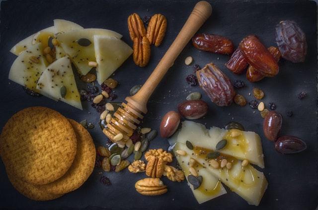 snacks saludables / Fuente: @Pexels