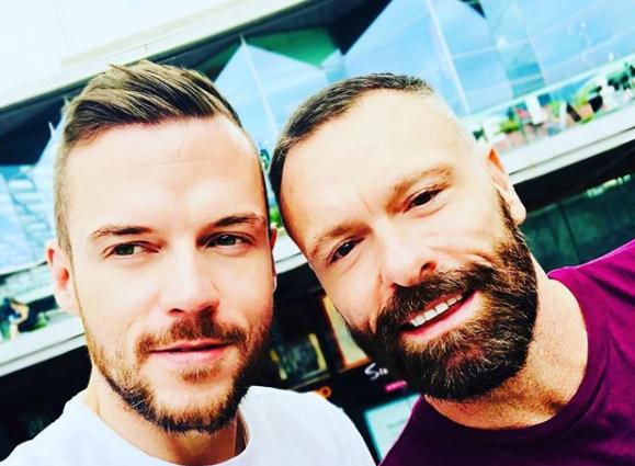 jóvenes gay /Fuente: Instagram @ iamdanielchristopher
