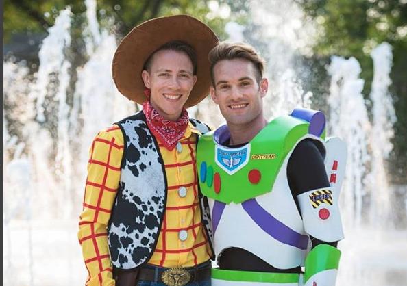 boda gay de Toy Story/ Fuente: Instagram @tiffanybrandtphotography