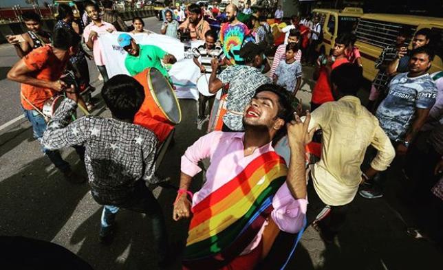 India legaliza sexo homosexual / Fuente: Instagram @frantz_helen
