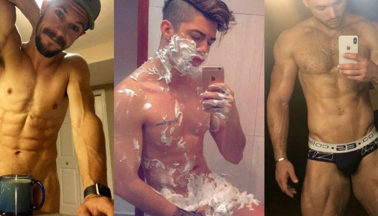 selfies hot/ Fuente: Instagram @chrisdougan91, @gorgeusmengay, @gayfuxe