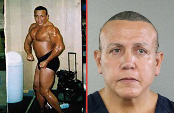 Cesar A Sayoc amenazó con contagiar de VIH