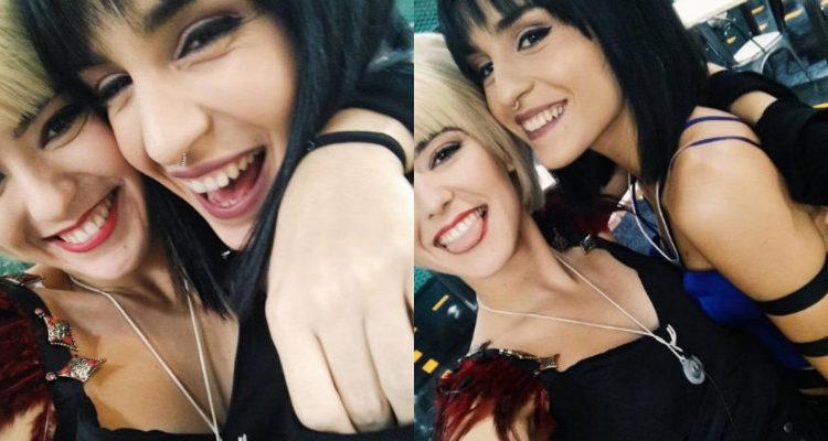 Alba Reche y Natalia / Fuente: Instagram @albareche.ot2018
