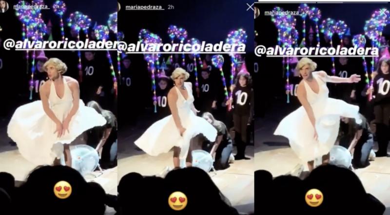 Causa revuelo el drag de Álvaro Rico como Marilyn Monroe
